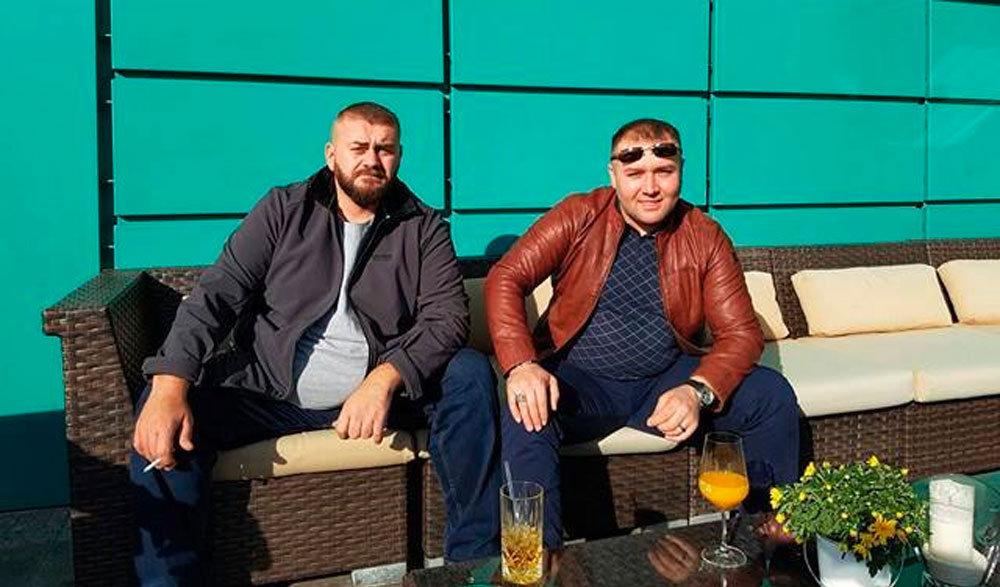 Bülənt Bafralı (solda) və Şeyx Həmzət