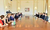 Ильхам Алиев принял делегацию Оценочной миссии ПАСЕ по референдуму