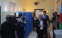 Спикер Милли Меджлиса голосует и верит в успех референдума