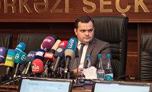 Глава инфоцентра Центральной избирательной комиссии АР (ЦИК) Фарид Оруджев