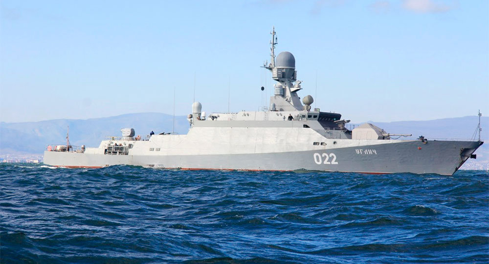 Командование Каспийской флотилии отправилось встолице Азербайджана