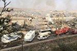 Türkiyənin Şırnak vilayətində terror aktı. Arxiv şəkli