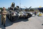 Модернизированный танк Т-72 на второй Азербайджанской международной Оборонной Выставке ADEX 2016