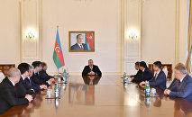 Ильхам Алиев принял участников проходящего в Баку заседания Совета руководителей органов безопасности и спецслужб государств–участников СНГ