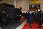 Ильхам Алиев ознакомился со второй Азербайджанской международной оборонной выставкой ADEX-2016