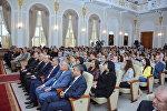 """UNEC """"Beynəlxalq iqtisadi və inzibati perspektivlər: Yeni regional baxışlar"""" mövzusunda beynəlxalq konfrans keçirib"""