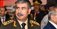 Министр обороны Азербайджана Закир Гасанов, фото из архива