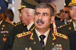 Müdafiə naziri general-polkovnik Zakir Həsənov, arxiv şəkli