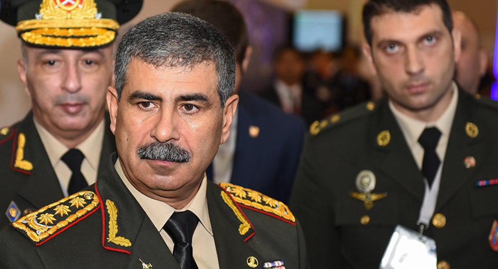 Azərbaycan Respublikasının Müdafiə naziri, general-polkovnik Zakir Həsənov