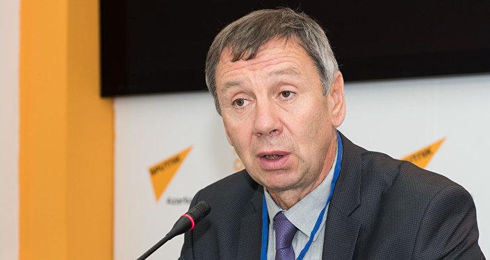 Член Общественной палаты РФ, политолог Сергей Марков в Мультимедийном пресс-центре Sputnik Азербайджан