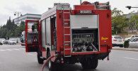 Пожарная машина МЧС Азербайджана