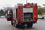 Пожарная машина в Баку, архивное фото