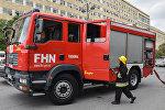 FHN-nın yanğınsöndürmə maşını, arxiv şəkli