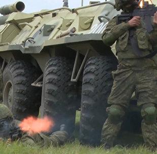 Яркие кадры работы подразделений Сухопутных войск РФ в ролике Минобороны