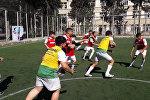 14 yaşlılardan ibarət Qarabağ reqbi komandası