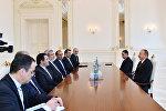 İlham Əliyev İranın daxili işlər nazirinin başçılıq etdiyi nümayəndə heyətini qəbul edib