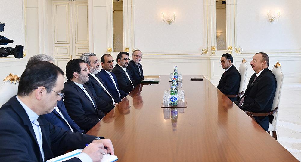 Президент Ильхам Алиев принял руководителя МВД Ирана