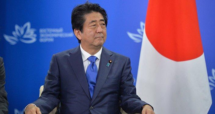 Премьер-министр Японии Синдзо Абэ, фото из архива