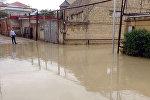 Kanalizasiya suları Badamdarın küçələrini bərbad hala salıb