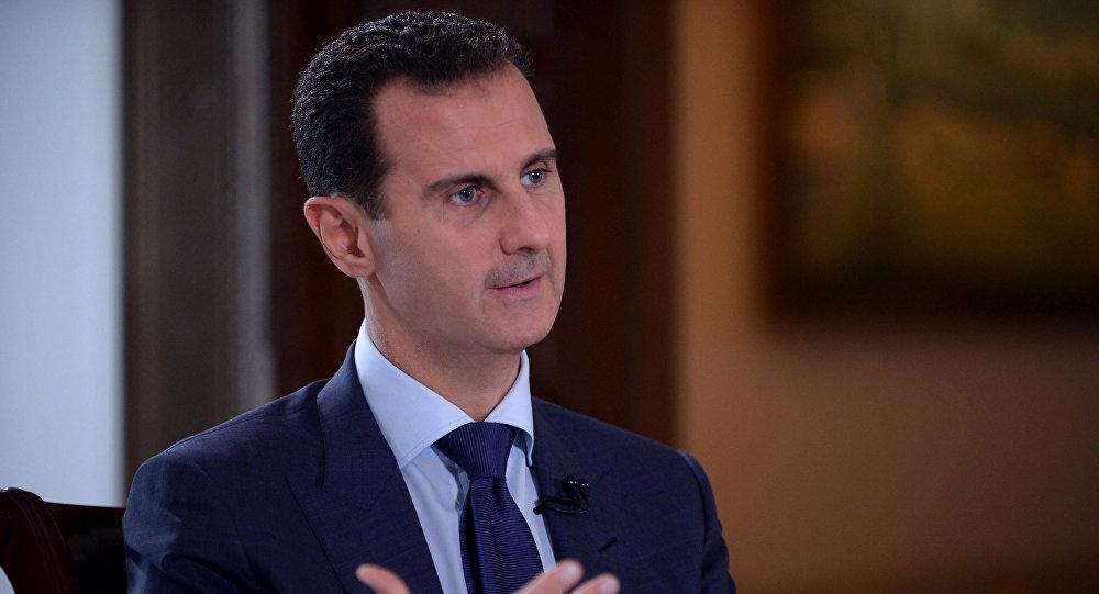 Президент Сирии Башар Асад, фото из архива