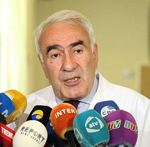 Səhiyyə Nazirliyi Elmi-Tədqiqat Pediatriya İnstitutunun direktoru, baş pediatr Nəsib Quliyev