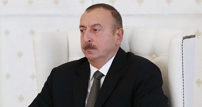 Azərbaycan prezidenti İlham Əliyev Nazirlər Kabinetinin iclasında