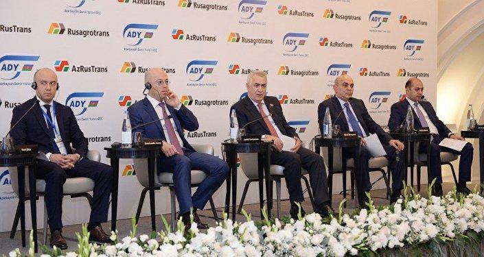 «Русагротранс» и«Азербайджанские железные дороги» создалиСП поперевозкам зерна