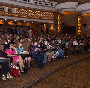 Nizami kinoteatrında Rus kino gününə həsr olunmuş tədbir