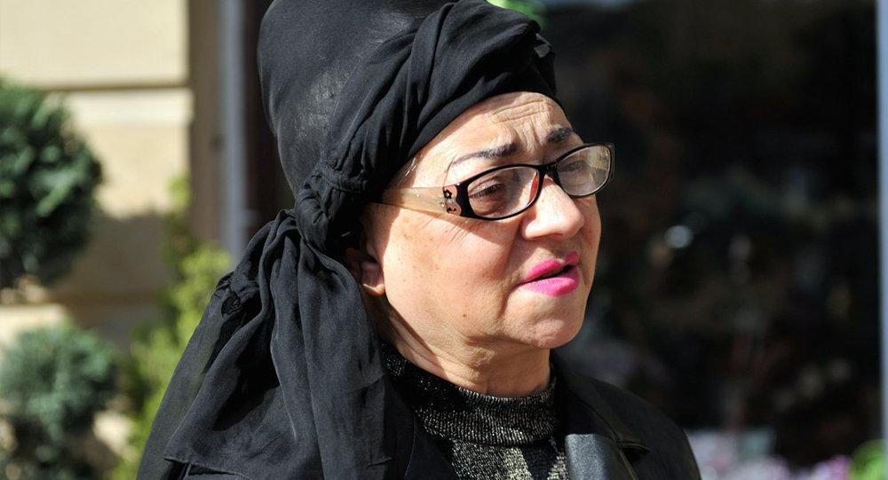 Xalq artisti Nuriyyə Əhmədova, arxiv şəkli
