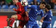 Футбольный матч Чехия-Азербайджан