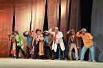 B.Basanqov adına Kalmık Milli Dram Teatrının kollektivi qastrol səfəri ilə Dövlət Gənc Tamaşaçılar Teatrının qonağıdır
