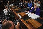 ABŞ Federal Ehtiyat Sisteminin idarə heyətinin sədri Canet Yellen