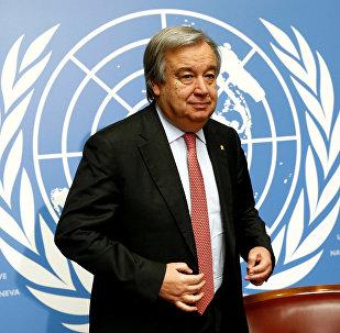 Антониу Гутерреш, генеральный секретарь ООН, архивное фото