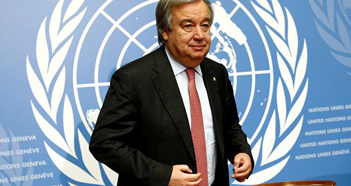 Антониу Гутерреш, генеральный секретарь ООН