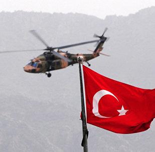 Вертолет ВС Турции