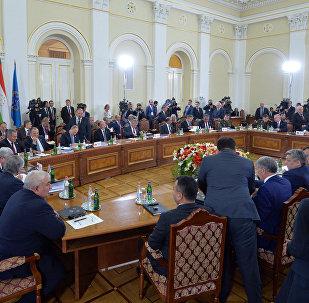 Заседание Совета коллективной безопасности ОДКБ в расширенном составе в Ереване, архивное фото