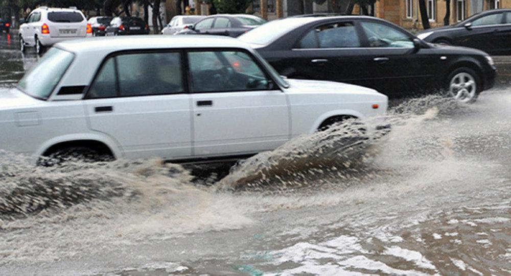 Дожди в Баку