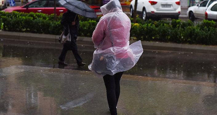 Bakıda güclü yağış