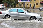 Последствия дождя в Баку, фото из архива