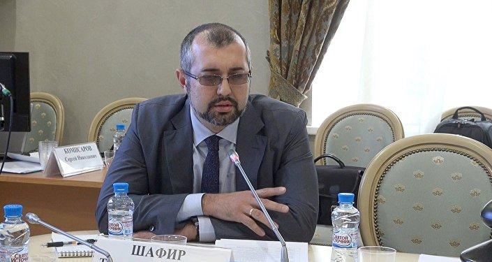 Секретарь Союза журналистов России (СЖР) Тимур Шафир