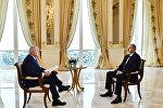 Президент Азербайджана Ильхам Алиев ответил на вопросы Дмитрия Киселева