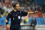 Türkiyəli FIFA hakimi Cüneyt Çakır