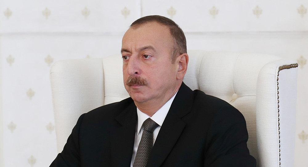 Президент Ильхам Алиев на заседании Кабинета Министров Азербайджана