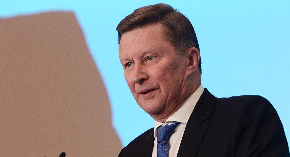 Rusiya Prezidenti Administrasiyasının keçmiş rəhbəri Sergey İvanov