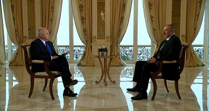 Azərbaycan prezidenti İlham Əliyevin Sputnik-ə müsahibəsi