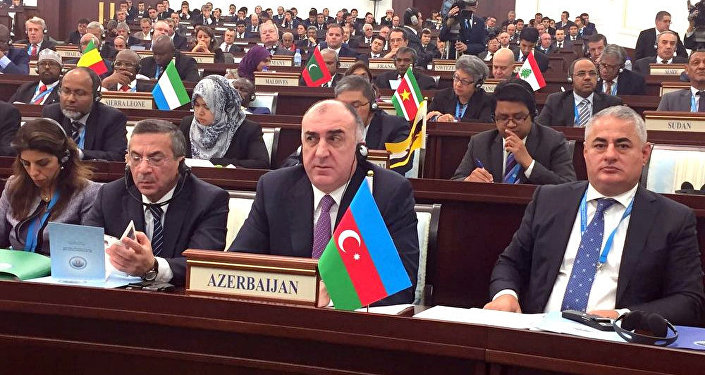 Глава МИД АР Эльмар Мамедьяров на 43-й сессии совета министров иностранных дел ОИК