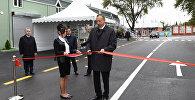 İlham Əliyev Qazax-Kosalar avtomobil yolunun yenidənqurmadan sonra təqdimatında iştirak edib