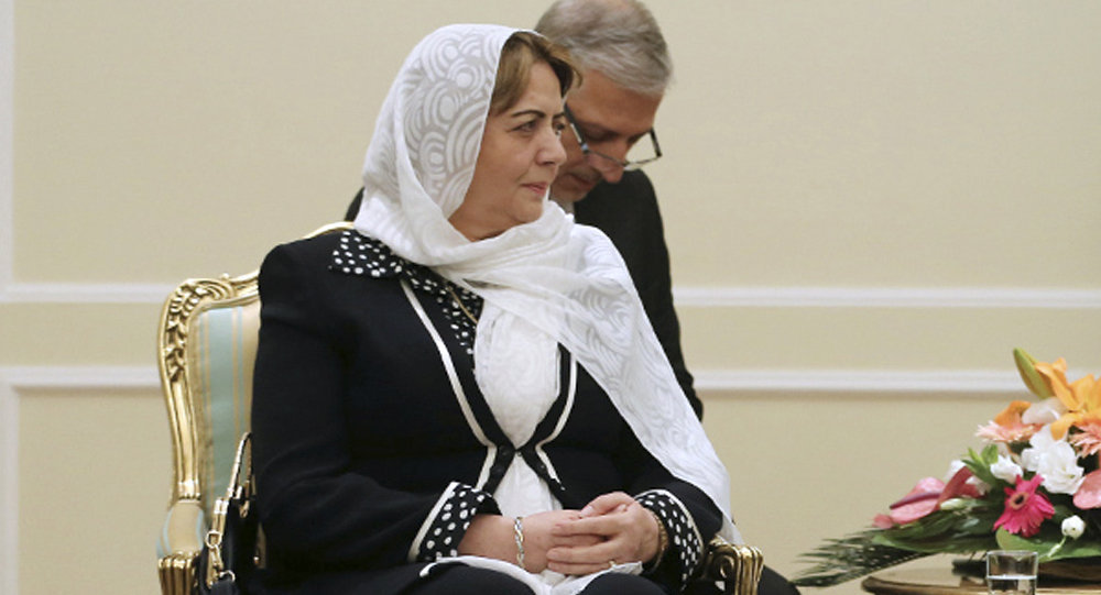 Suriya parlamentinin sədri Hədiyə Abbas