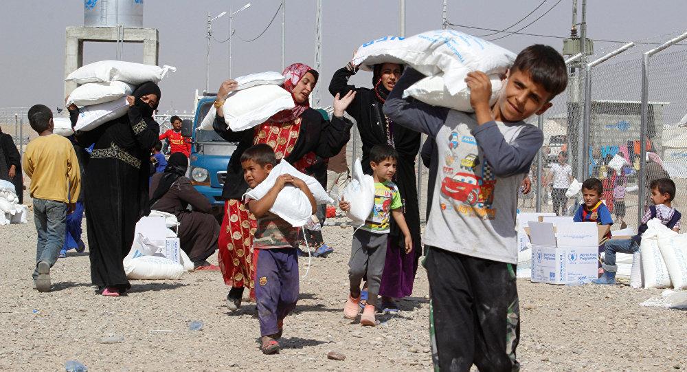 Mosul əməliyyatının başlaması ilə bölgədə yaşayan əhali köçməyə başlayıb