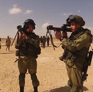 Десантники ВС России и Египта провели учения